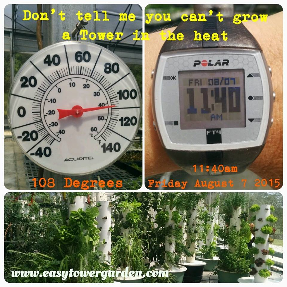 Tower Garden Thermometer