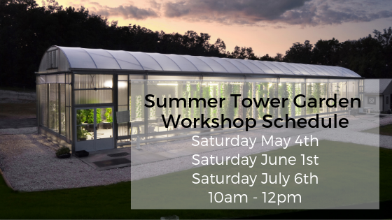 Tower Garden Workshop Schedule